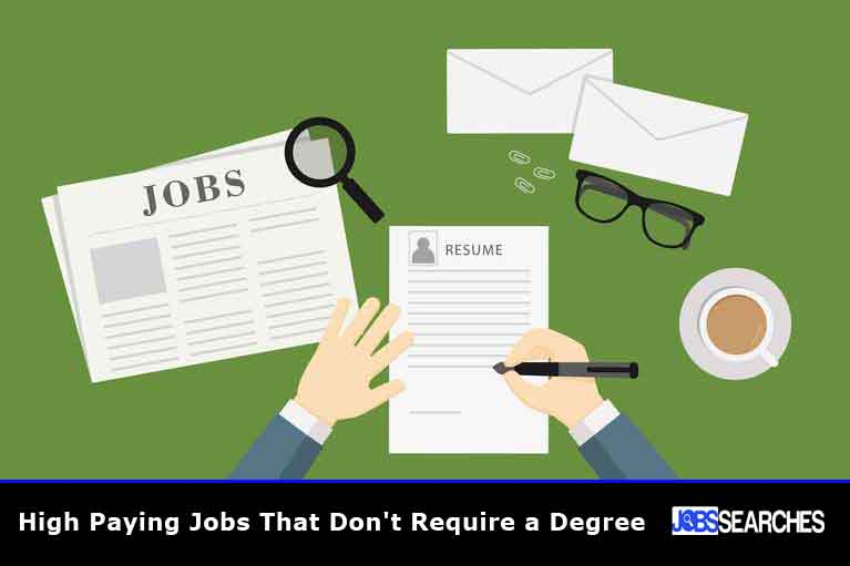High Paying Jobs That Don't Require a Degree