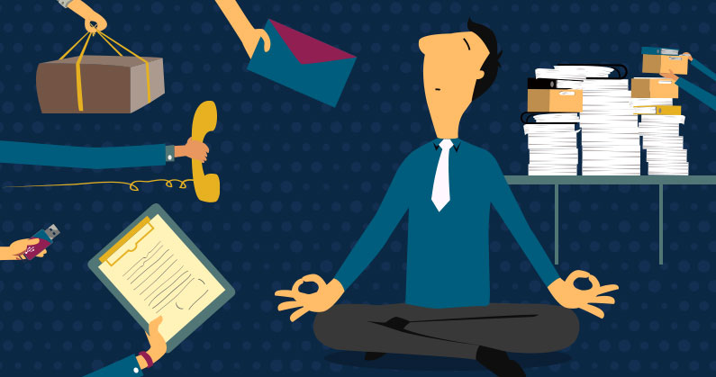 Simple Ways to Deal With Stress at Work