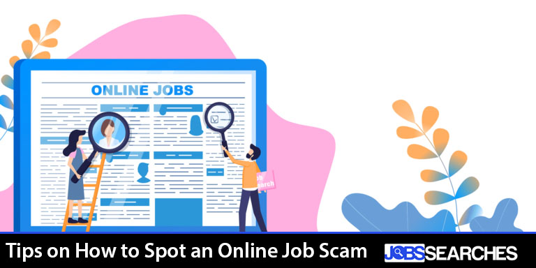 Tips on How to Spot an Online Job Scam