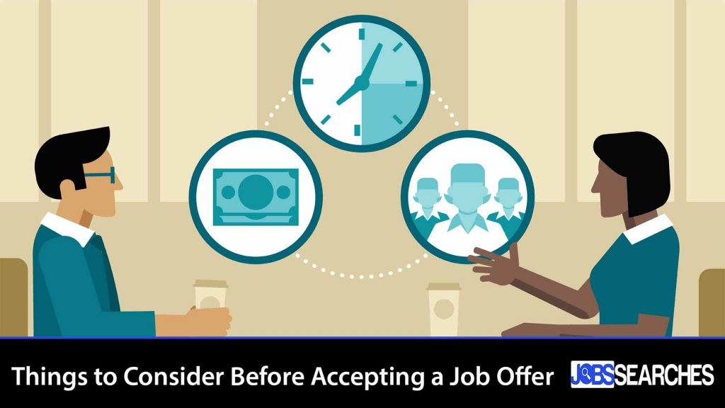 Things to Consider Before Accepting a Job Offer