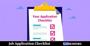 Job Application Checklist