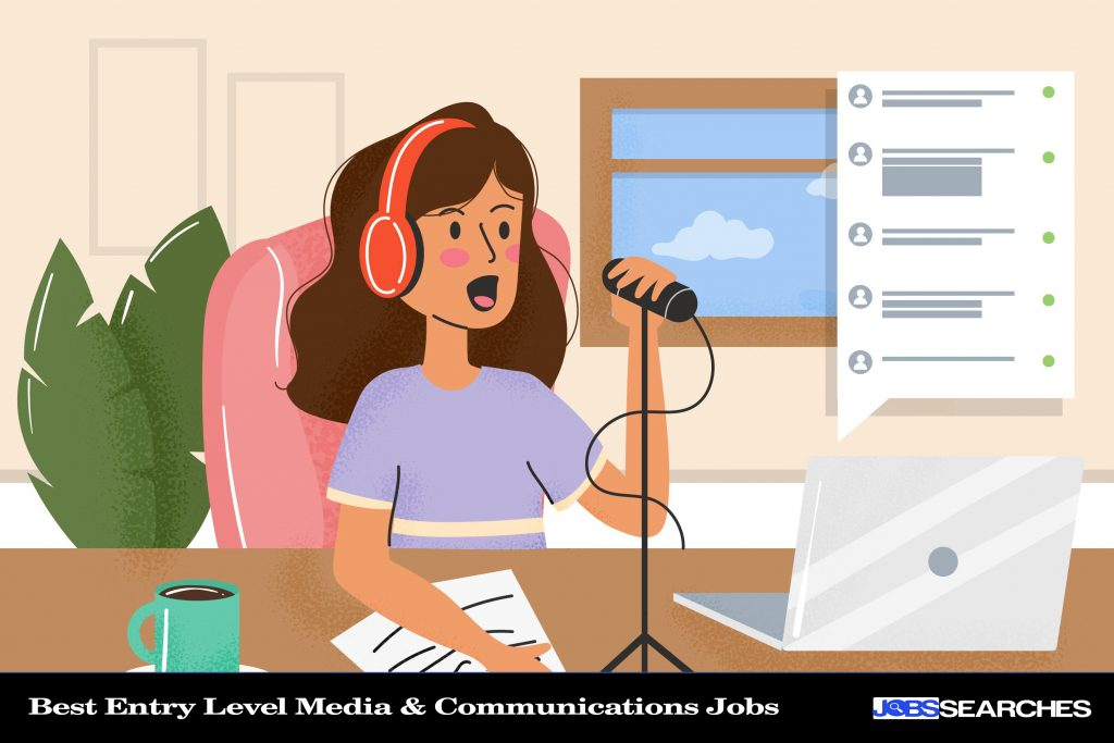 Best Entry Level Media & Communications Jobs