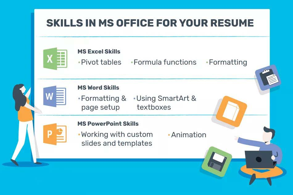 How to List Computer Skills on a Resume