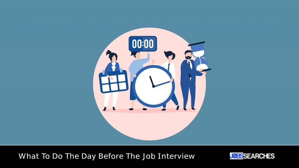 What To Do The Day Before The Job Interview