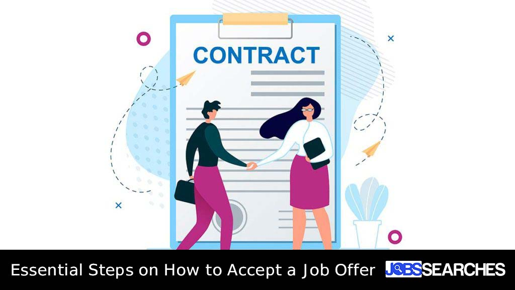 Essential Steps on How to Accept a Job Offer