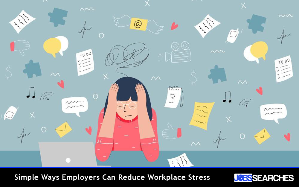 Simple Ways Employers Can Reduce Workplace Stress