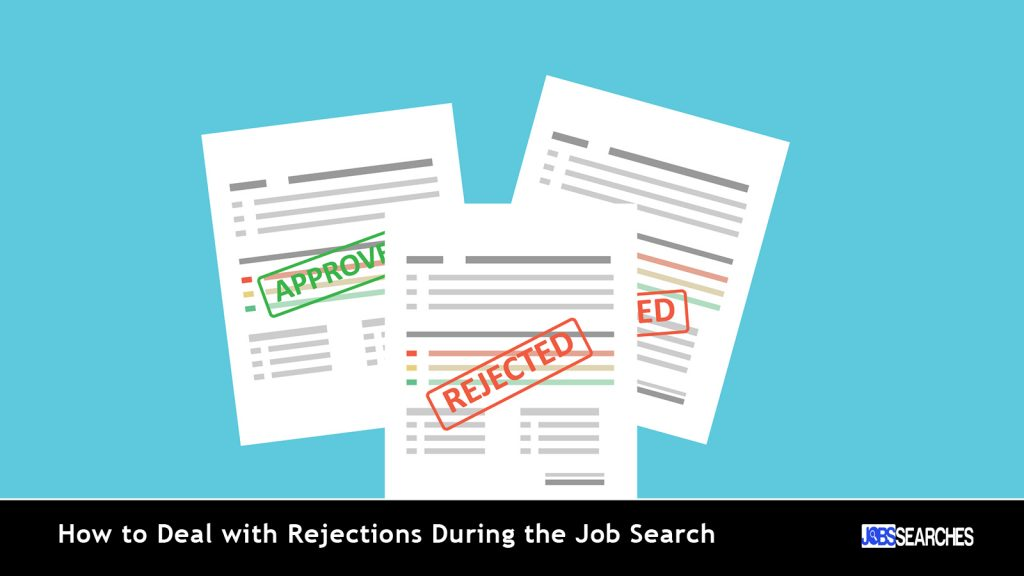 How to Deal with Rejections During the Job Search